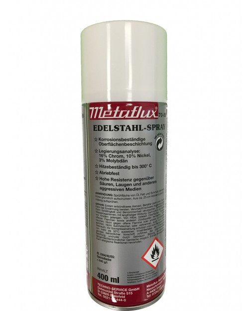 Metaflux Edelstahl-Spray, Best.-No. 01228