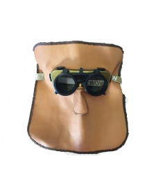 Schweissermaske aus Leder, Best.- No. 90425