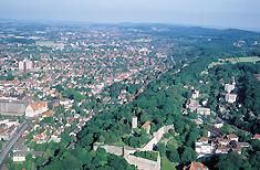 Blick über Bielefeld, dem Sitz der GTS Schweisstechnik